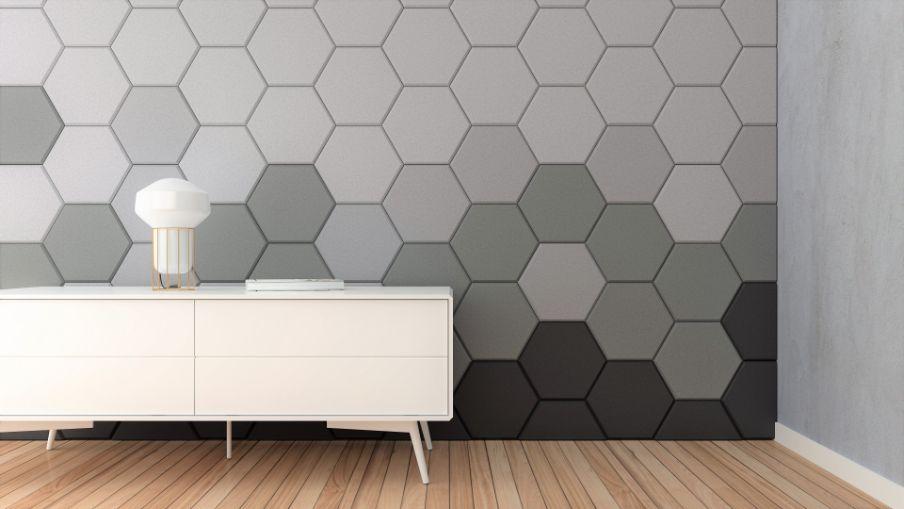 Espuma Acústica Hexagonal 30c - Kit