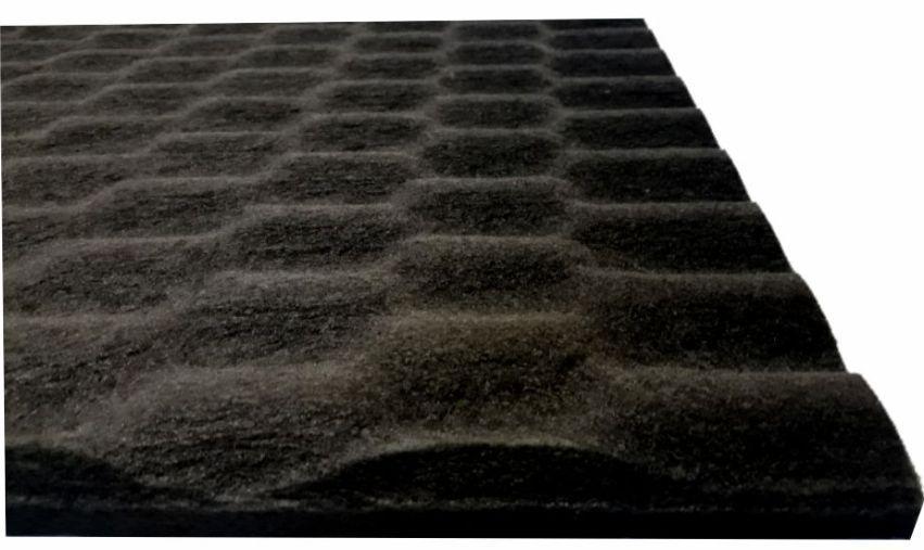 Revestimento Acustico Ecoline Wave 30/10 Natural