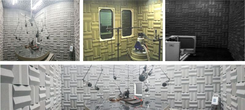 Mini Cunha Acústica Anecóica - Kit