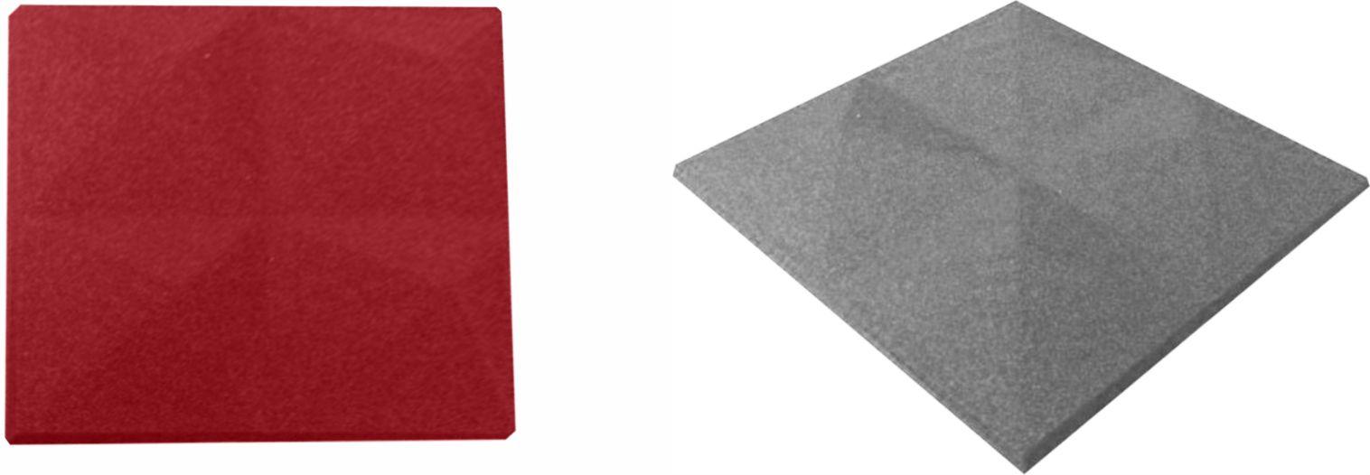 Mini Pirâmide Anecóica Acustica - Kit