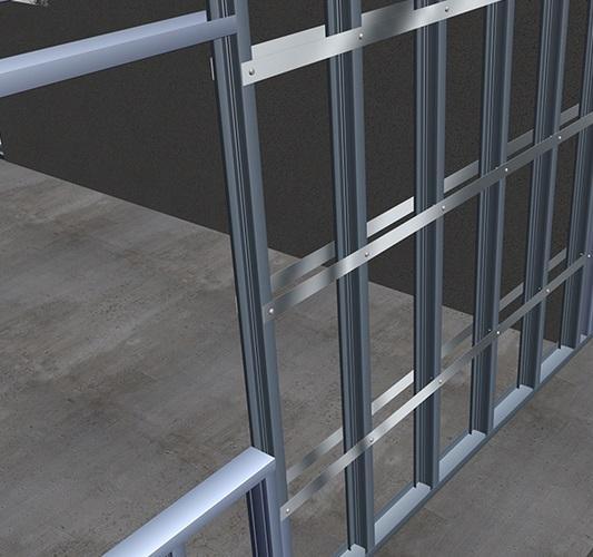Perfil Montante Steel Frame M90