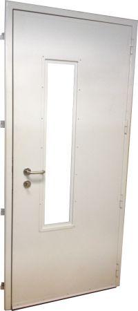 Porta Acústica Padrão 30 dB - Completa com Visor