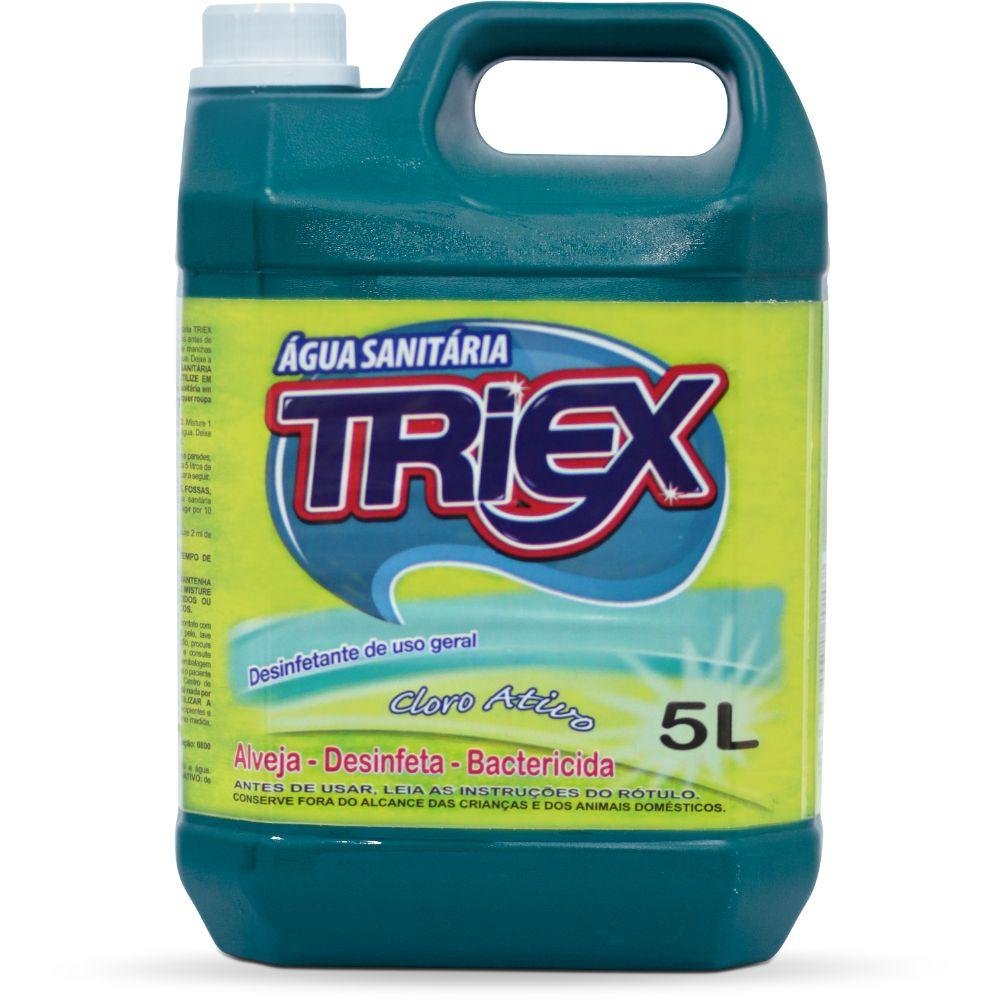 Agua Sanitaria Triex 5 Lts .