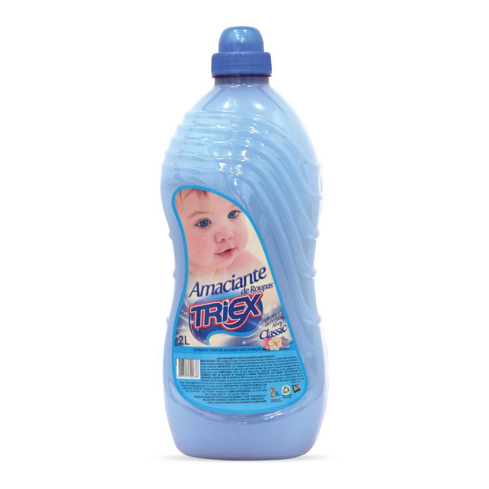 Amaciante Triex 2 Lts Classic Azul