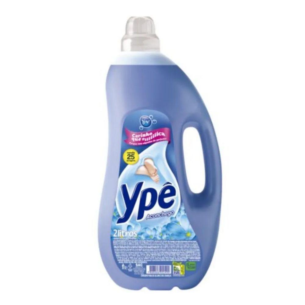 Amaciante Ype 2lt Concentrado Aconchego Azul