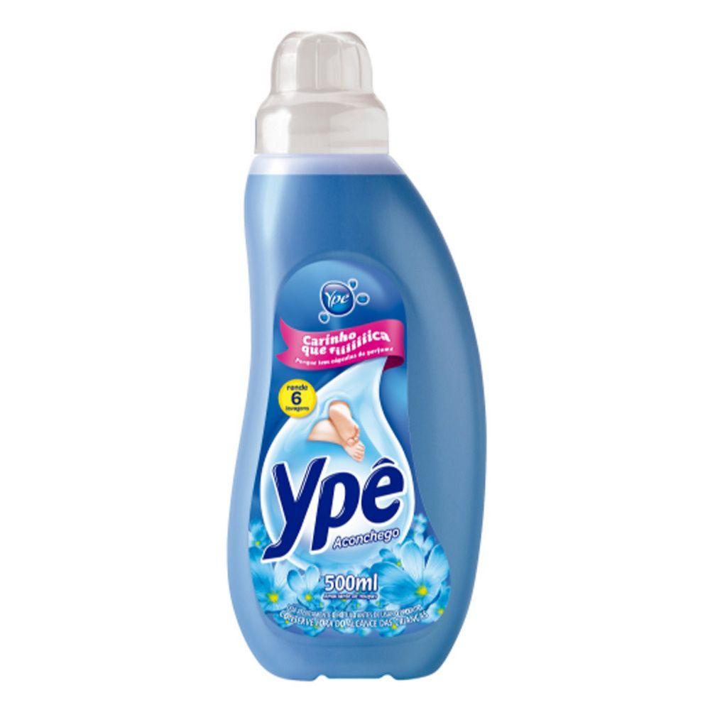 Amaciante Ype 500Ml Concentrado Aconchego Azul