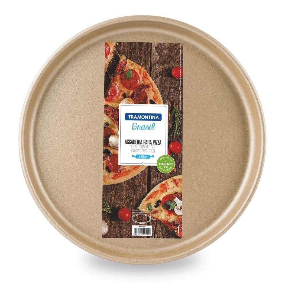 Assadeira Pizza Alumínio 35Cm Tramontina
