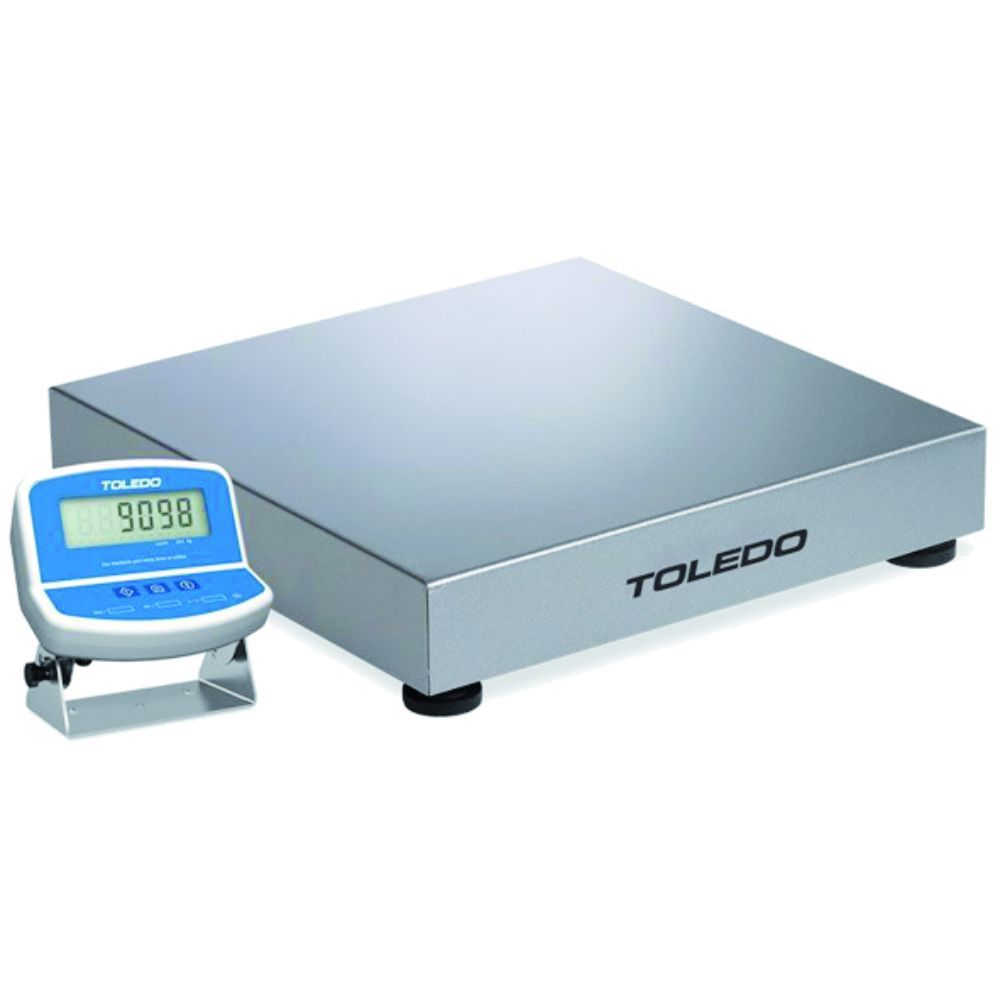 Balança Eletrônica de Bancada 2098 Mesa E Parede Inox 300Kg Toledo