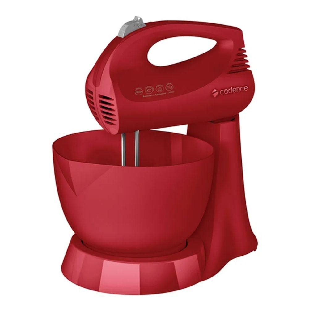 Batedeira Cadence Jolie Color 127v Vermelha