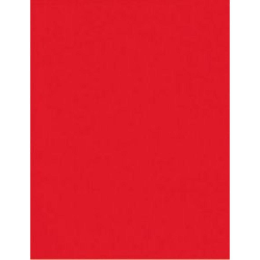 Bob Papel Couche 40cm Vermelho Liso 6kg C/200mts
