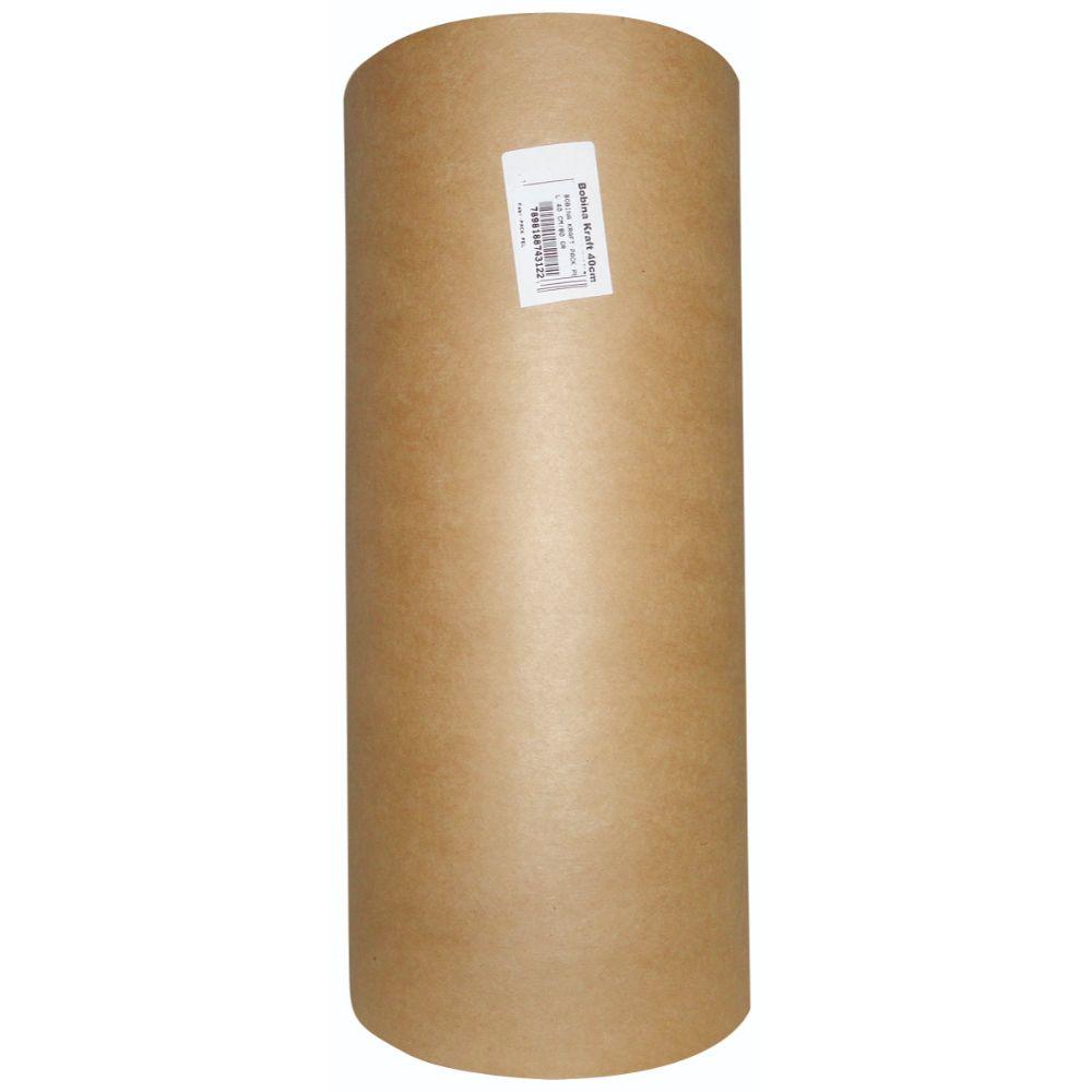 Bobina Papel Kraft 40cm 80gr +- 5kg