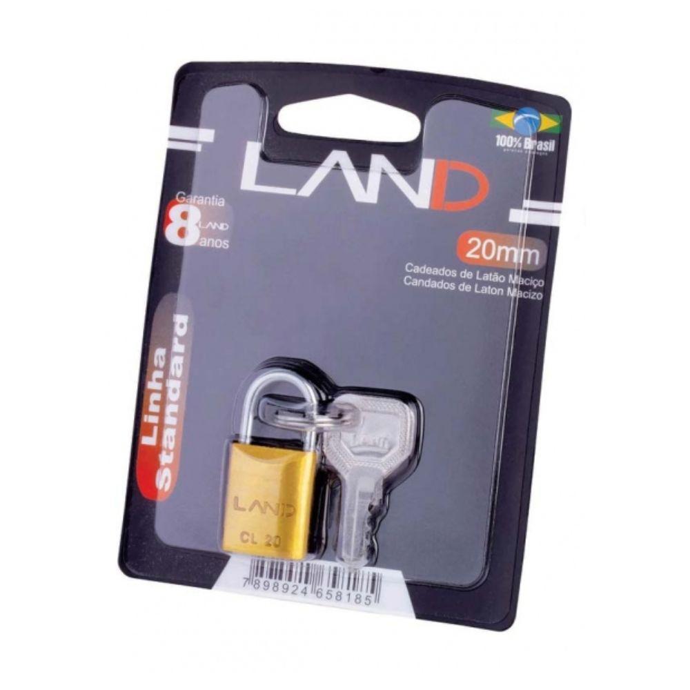 Cadeado Land Blister 20mm