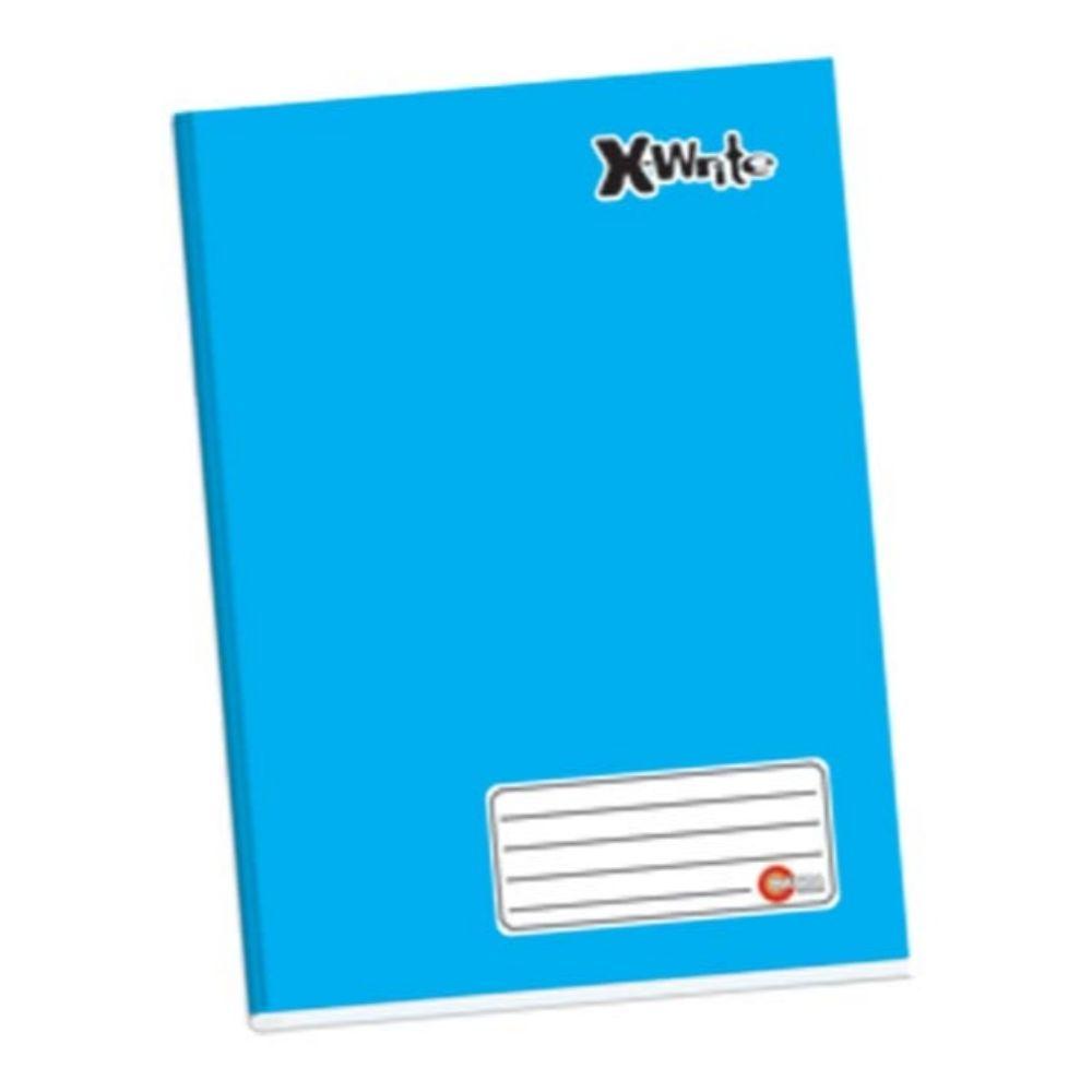 Caderno Broch Cd 96fls Maxima Azul