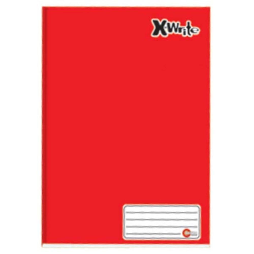 Caderno Broch Cd 96fls Maxima Vermelho