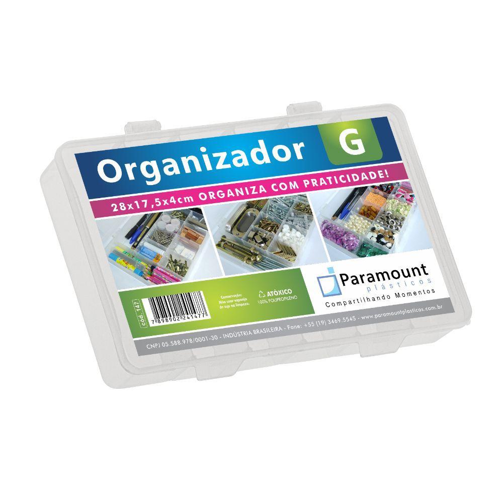 Caixa Box Organizador. G 28X17,5X4Cm Paramount