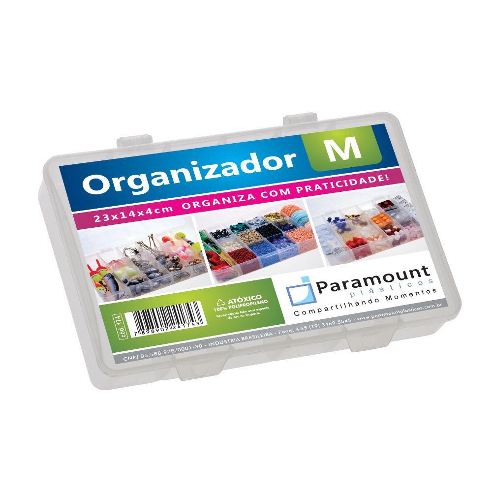 Caixa Box Organizador. M 23X14X4Cm Paramount