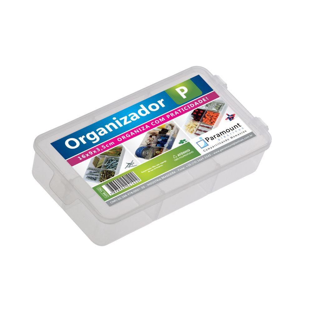 Caixa Box Organizador. P 16X9X3,5Cm Paramount