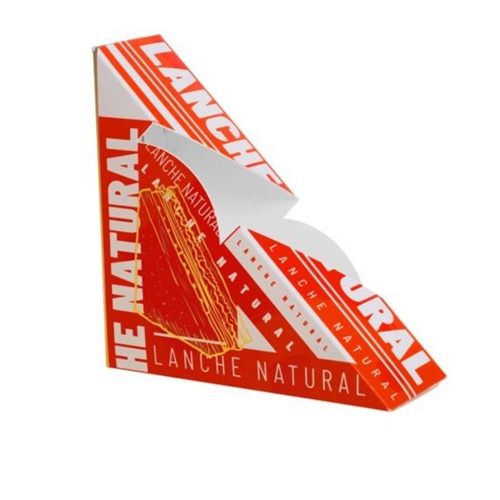 Caixa P/ Lanche Natural Red C/50