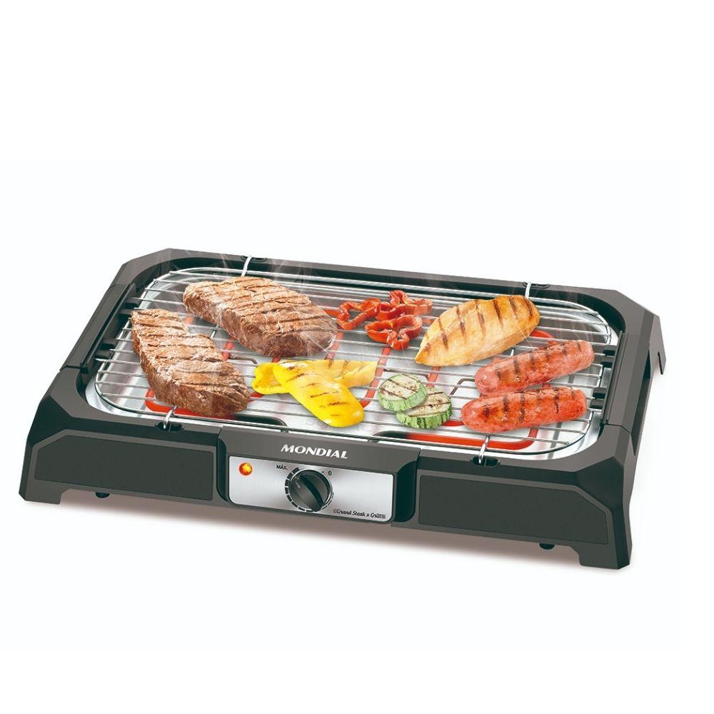 Churrasqueira Eletrica Steak & Grill Mondial