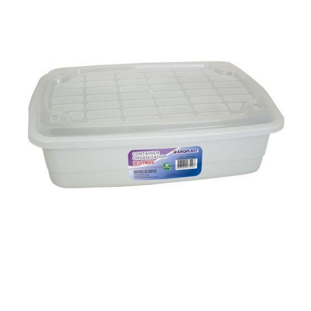 Container Organizador 10lts Arqplast