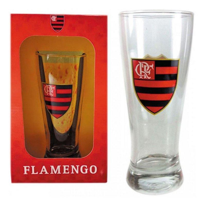 Copo Chopp 300ml Emb Luva Flamengo