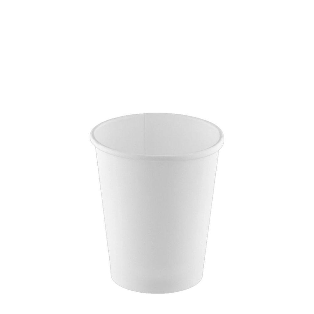 Copo De Papel Facilite Food 240ml Branco C/50