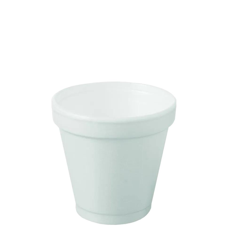 Copo Isopor 120ml Branco Copobras C/25