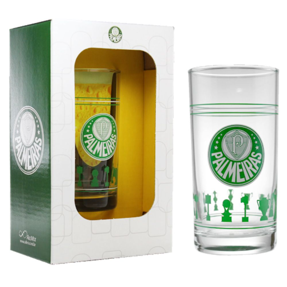 Copo Long Drink 300Ml Palmeiras