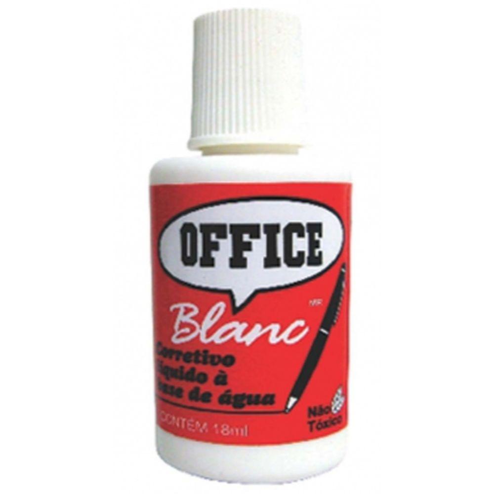 Corretivo Liq. Radex Office Blanc
