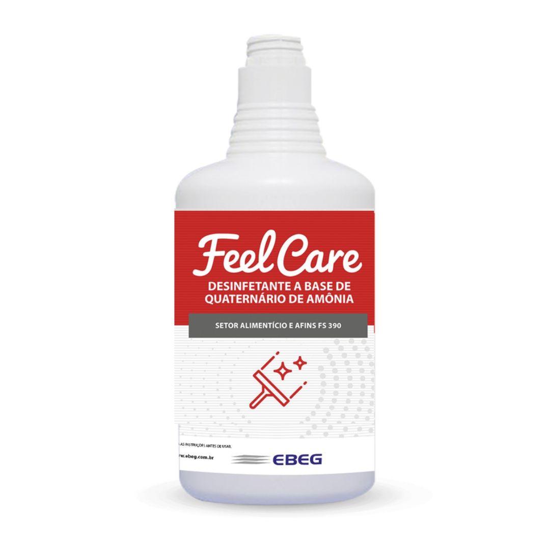 Desinfetante De Amoniacal Feelcare Fs 390 1L