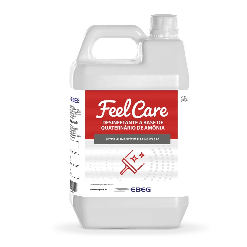 Desinfetante De Amoniacal Feelcare Fs 390 5 Lt
