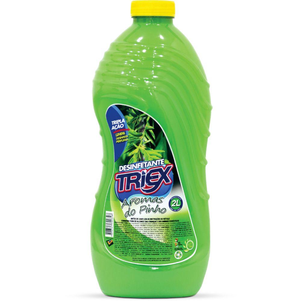 Desinfetante Triex 2 Lts Aromas Do Pinho