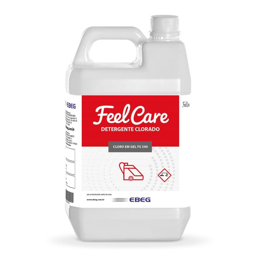 Detergente Clorado Feelcare Fs 340 5lt