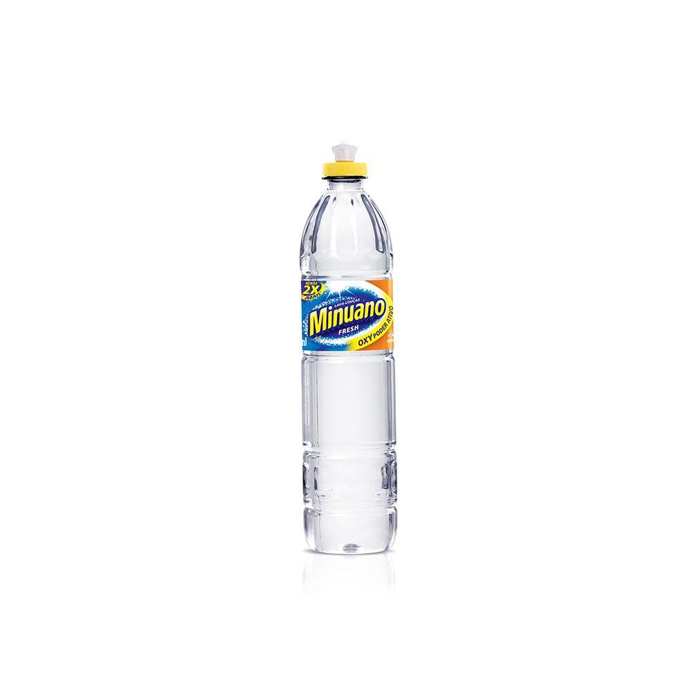 Detergente Liquido Minuano 500ml Fresh