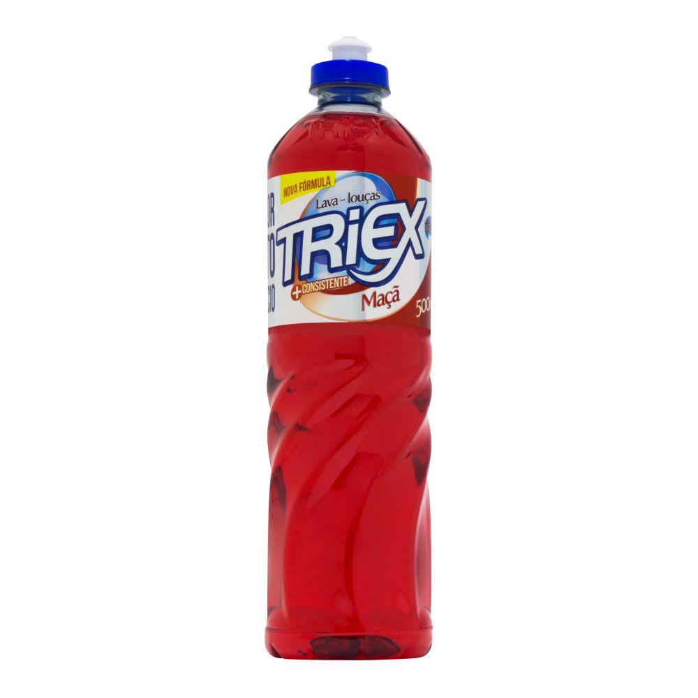 Detergente Liquido Triex 500ml Maça