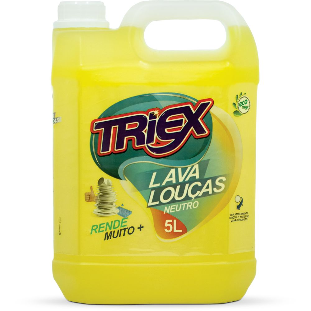 Detergente Liquido Triex 5 Lts Neutro