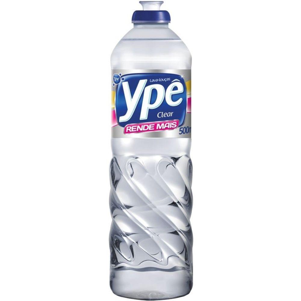 Detergente Liquido Ype 500 Ml Clear