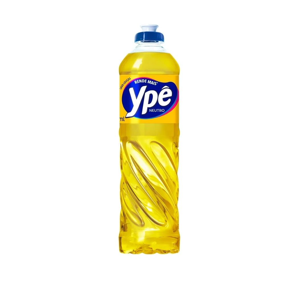 Detergente Liquido Ype 500 Ml Neutro