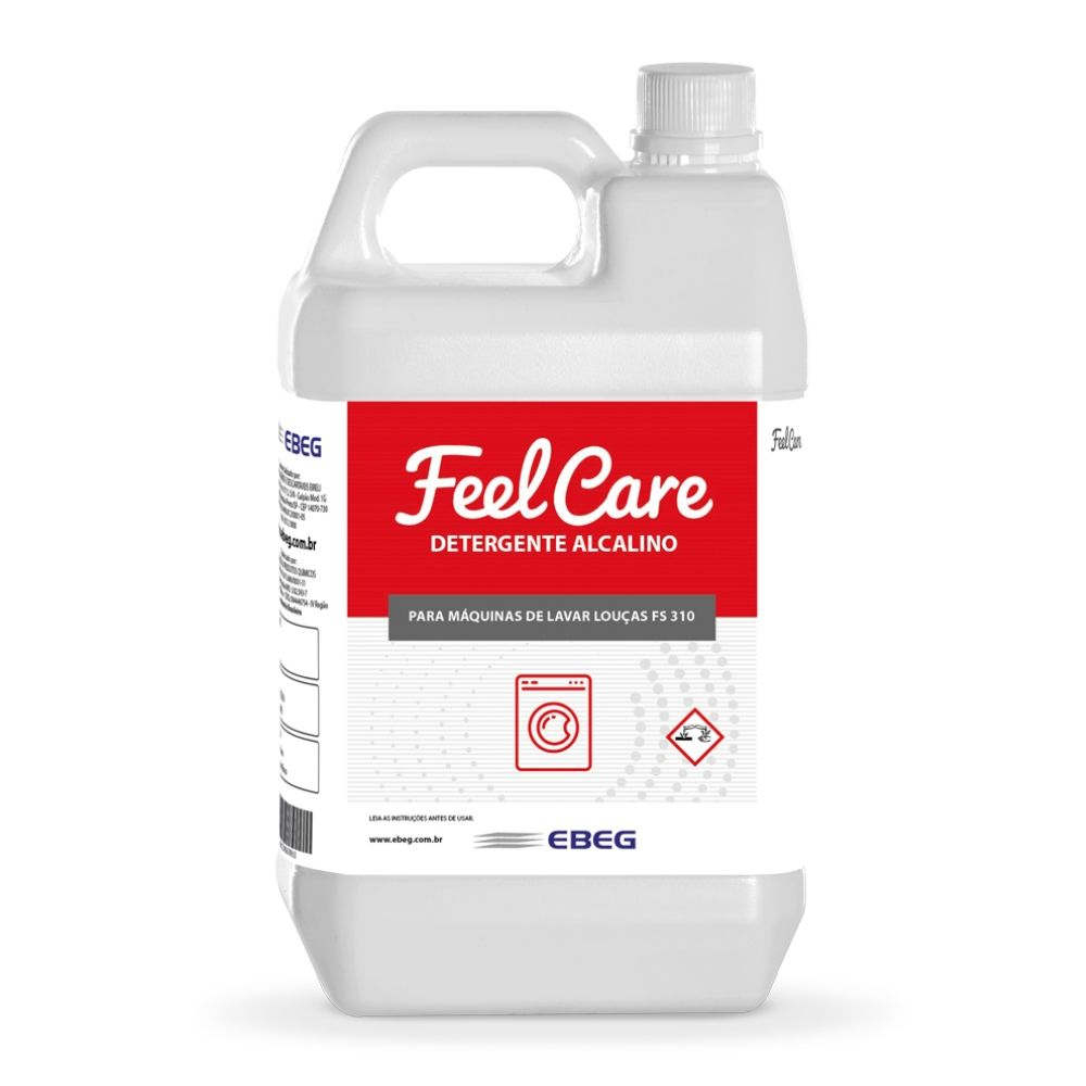 Detergente Maq Lava Loucas Feelcare Fs 310 5lt