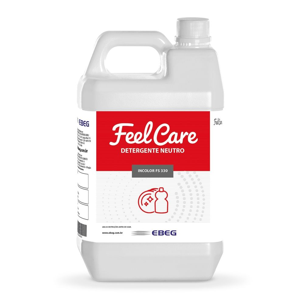 Detergente Neutro Incolor Feelcare Fs 330 5lt