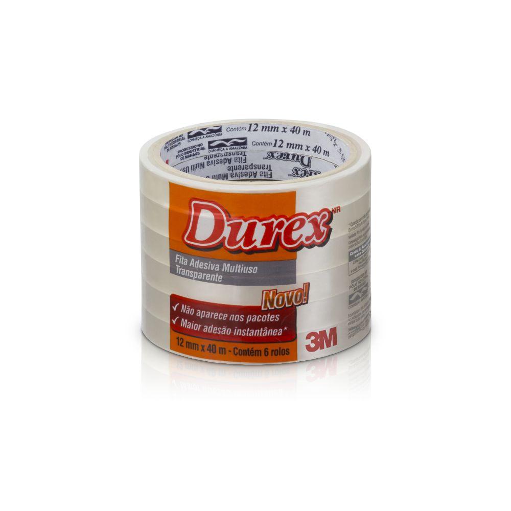 Durex Transparente 12x40 3m