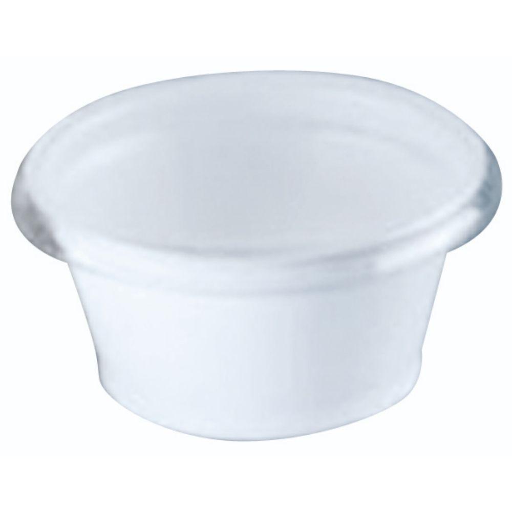 Embalagem Galvanotek G-695 Pote Para Molho 30ml Branco