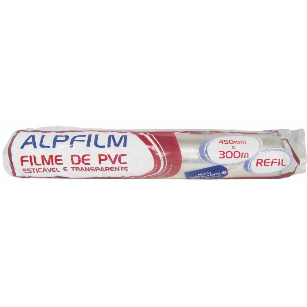 Filme Pvc Alpfilm 45x300 Mts Refil 8,5 Micra
