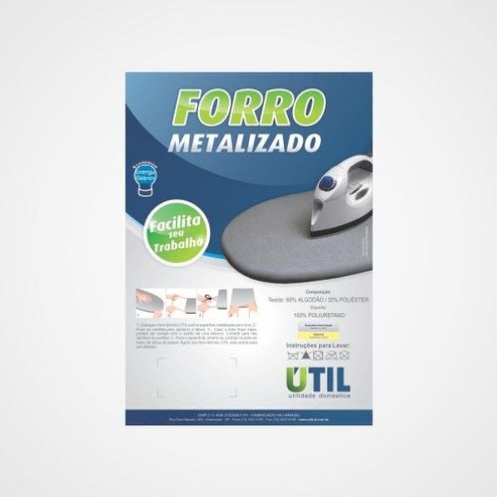 Forro Metalizado P 1,00Mx33Cm