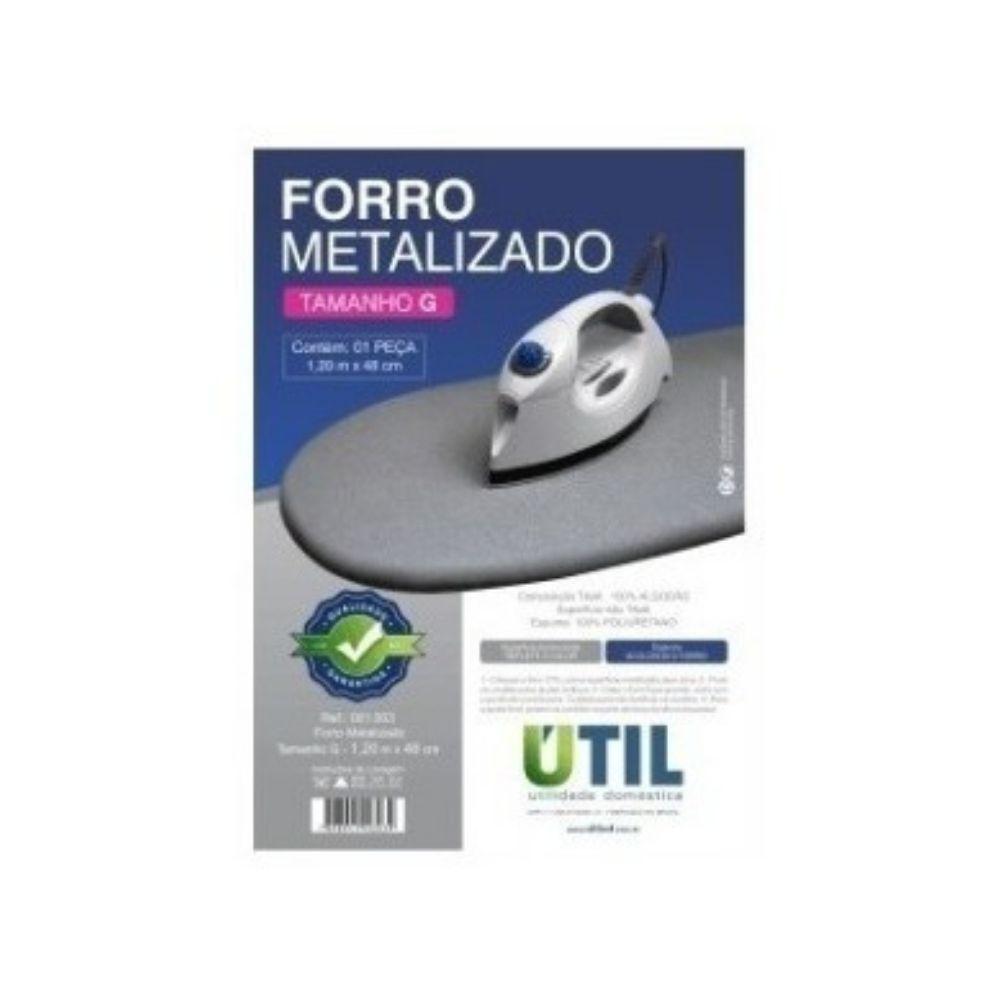 Forro Metalizado Tamanho G 1,20m X 48cm