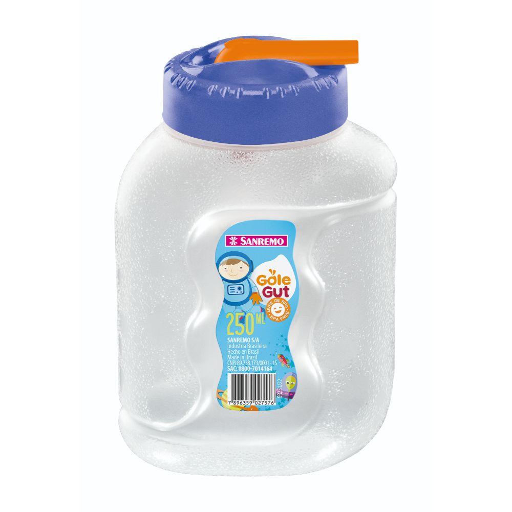Garrafa Gole Gut Plastico 250ml Azul