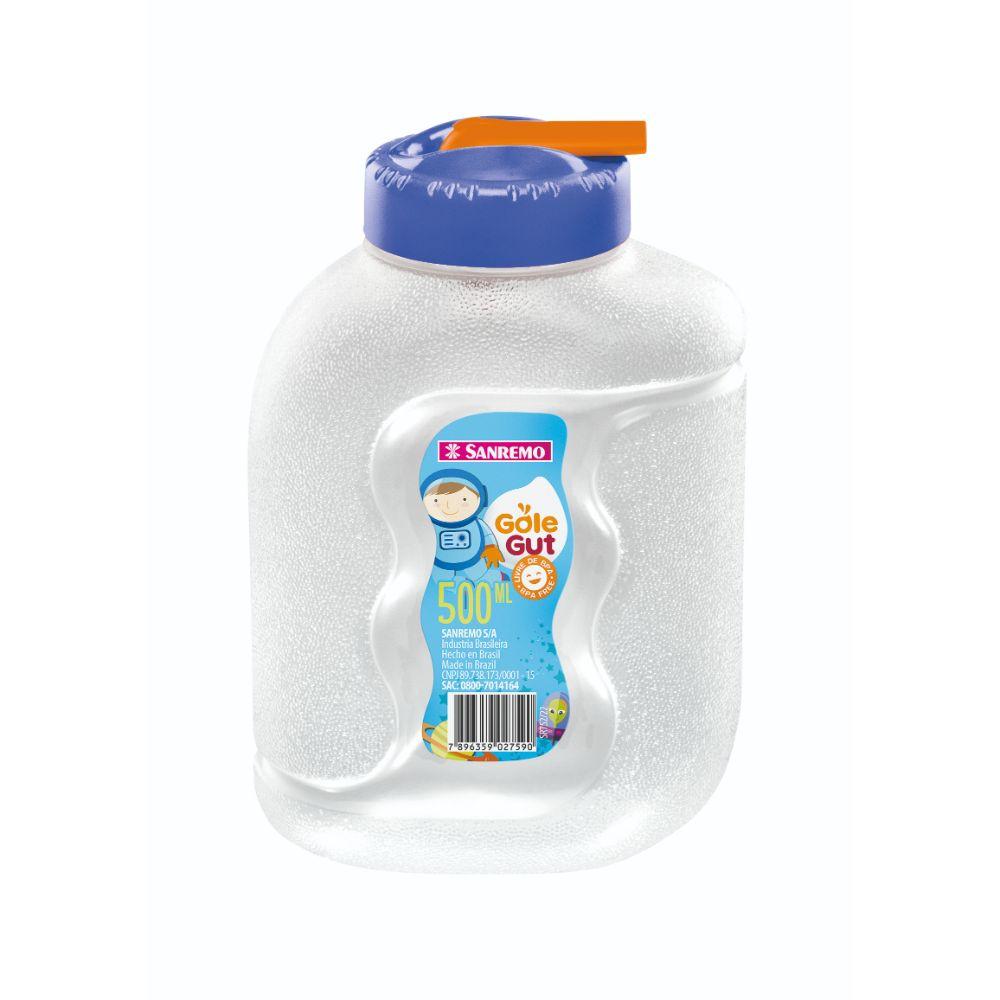 Garrafa Gole Gut Plastico 500ml Azul