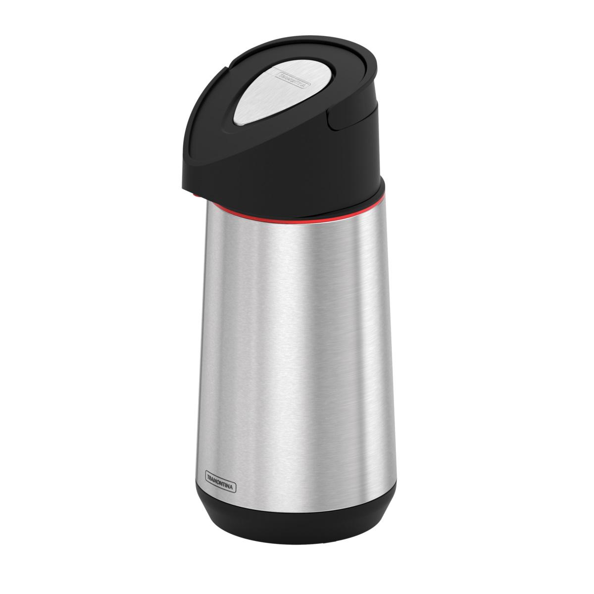 Garrafa Térmica 1,2l C/Bomba Exata Inox
