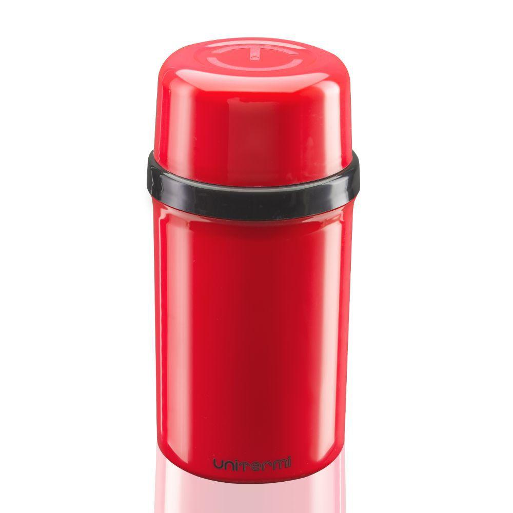 Garrafa Térmica Fano 250Ml Vermelha Unitermi