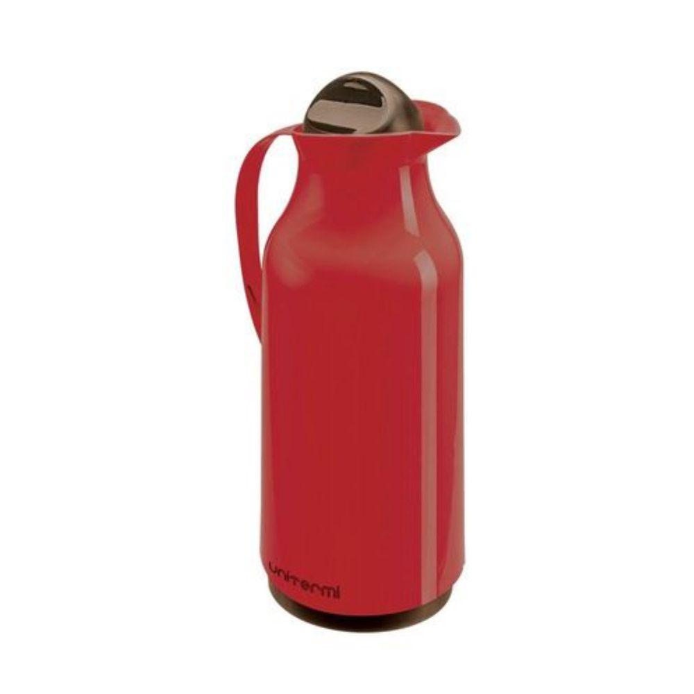 Garrafa Térmica Siena 750Ml Vermelha Unitermi